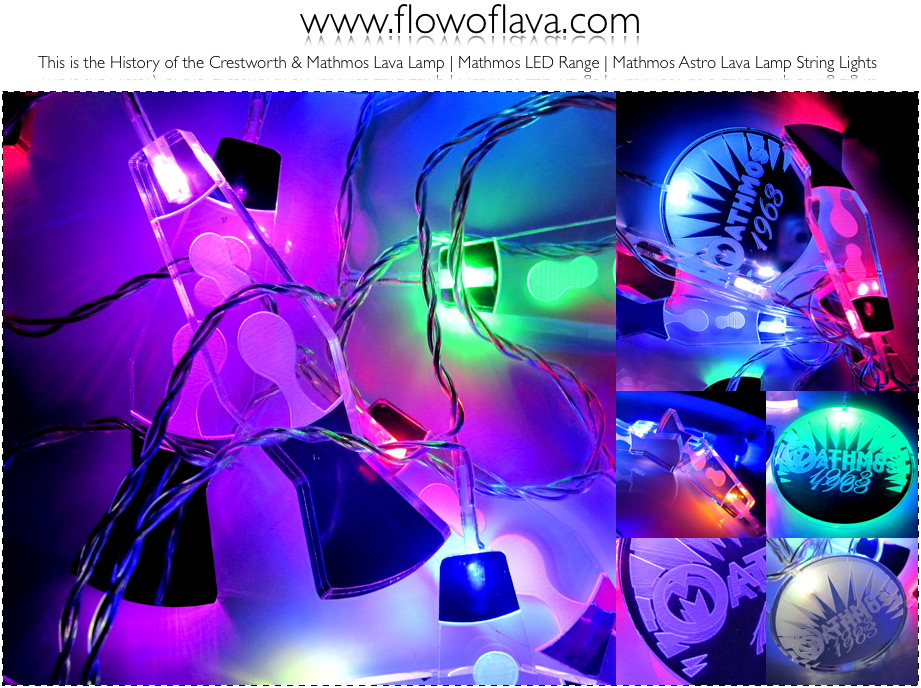 Lava Lamp String Lights : flowoflava.com: Mathmos Astro Lava Lamp String Lights The World s First Lava Lamp String ...