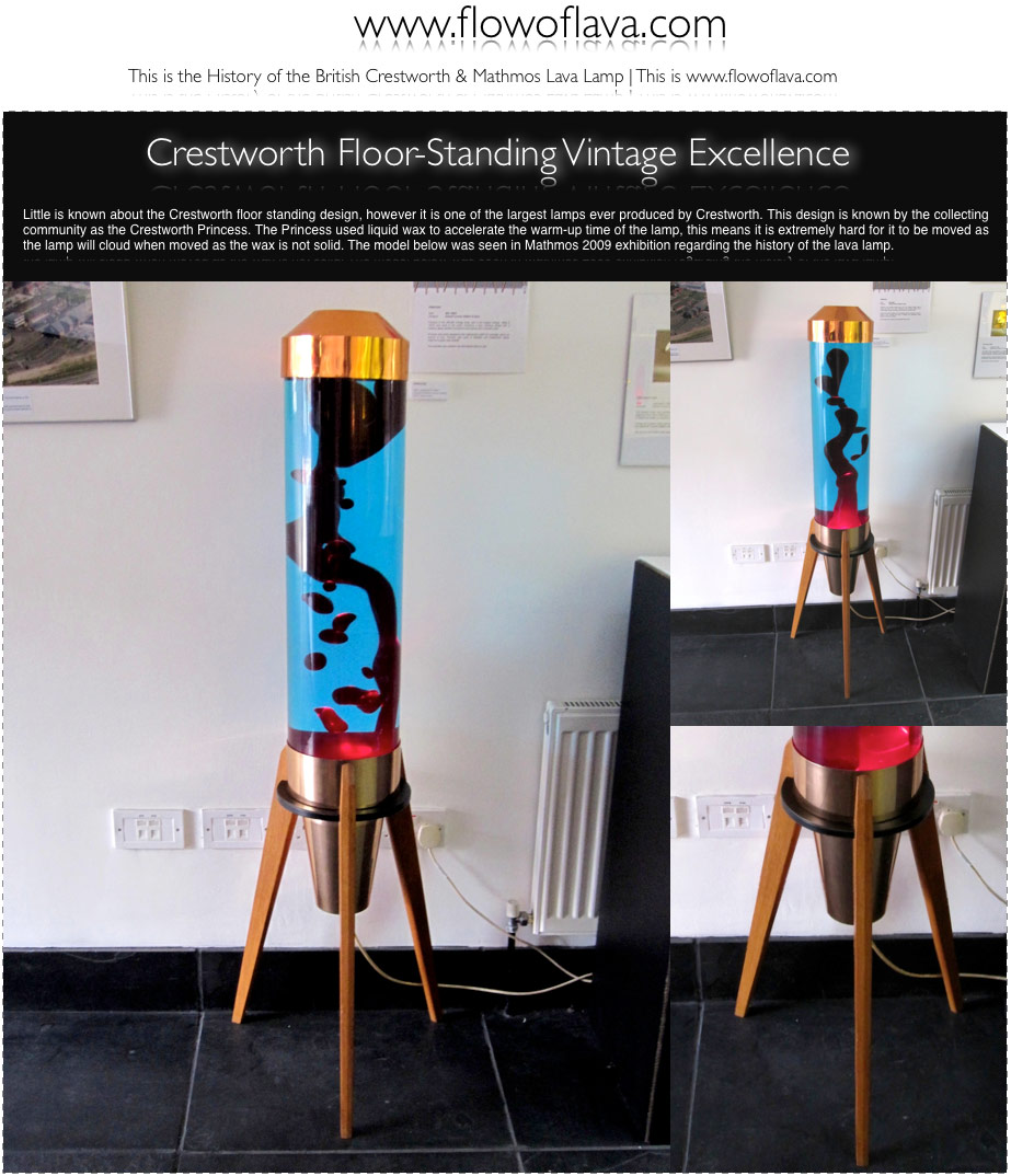 The history of the astro lamp crestworth floor standing fab piece the history of the astro lamp crestworth floor standing fab piece the crestworth princess mozeypictures Choice Image