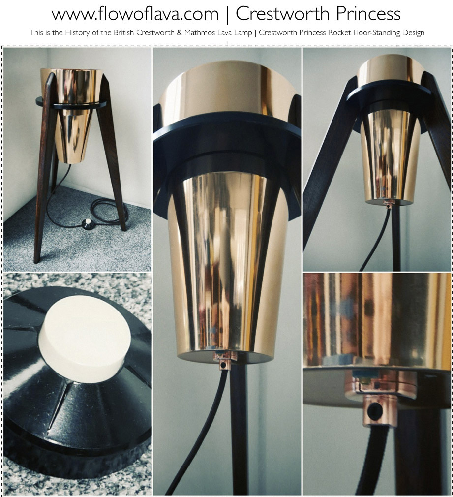 The History Of The Astro Lamp Crestworth Floor Standing Fab Piece The Crestworth Princess
