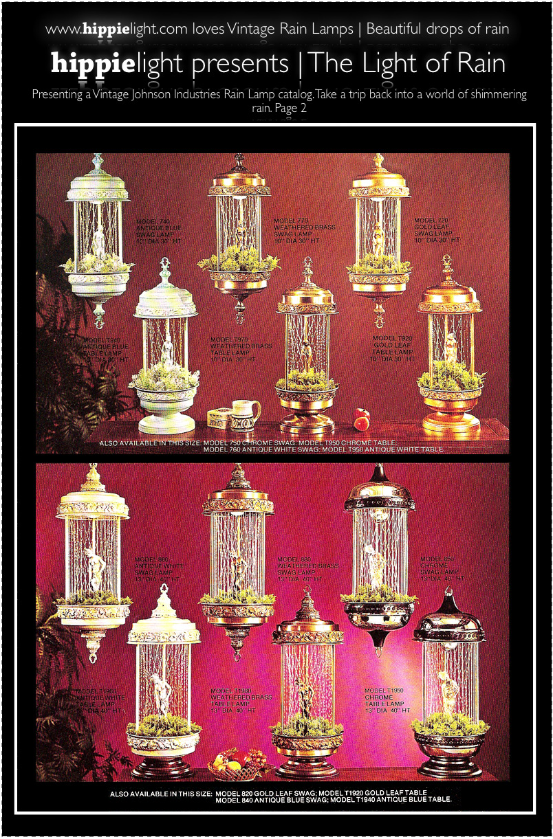 Even More Rain Lamps Can Be Seen Below. Is Yours One Of The Ones Below? Do  You Have Story About Your Vintage Rain Lamp, Weu0027d Love To Hear It.